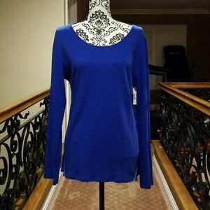 💙BRIGHT BLUE VINCE CAMUTO TOP 💙